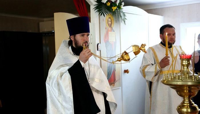 Престольный праздник строящегося храма князя Владимира г. Ставрополя